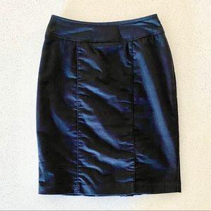 Le Château Jeans Pencil Skirt